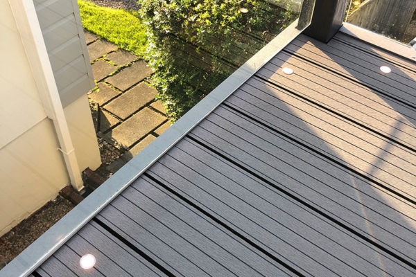 Composite Decking image with glass