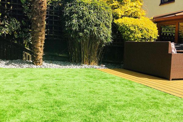 Artificial-grass-install---backyard-in-Devon