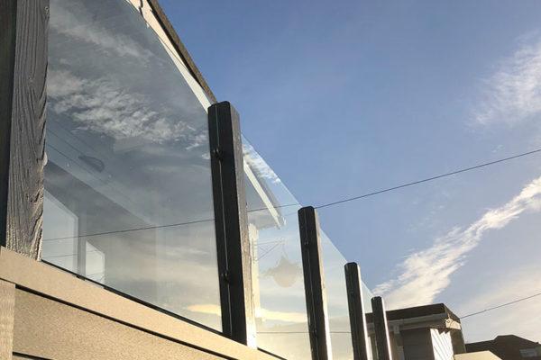 Glass-Balustrades-on-balcony